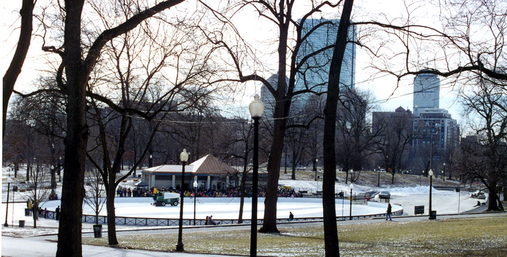 Frog Pond Pavilion At Boston Common